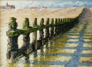 Painting of Shoreham Beach